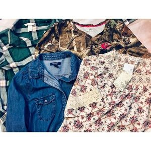 Tops - Lot of country clothes size medium
